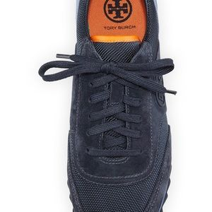 681fd0a3235 Tory Burch Shoes - Tory Burch Sawtooth Logo Trainer Sneakers SZ 8.5